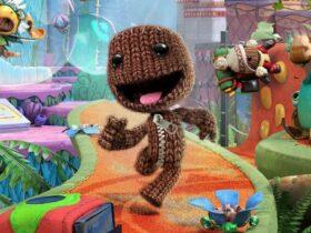 Graika z Sackboy: A Big Adventure, gry stworzonej przez Sumo Digital