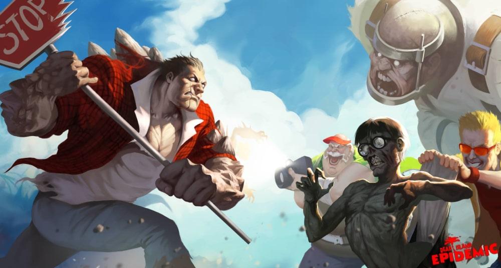 Kadr promocyjny z anulowanej gry Dead Island Epidemic tworzonej przez Stunlock Studios