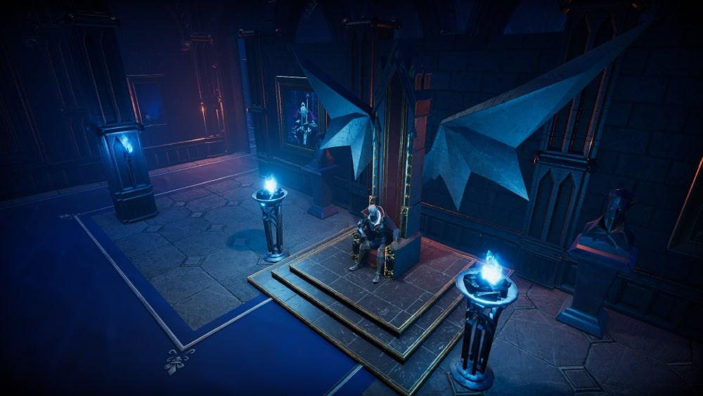 Kadr z nadchodzącej gry V Rising tworzonej przez Stunlock Studios