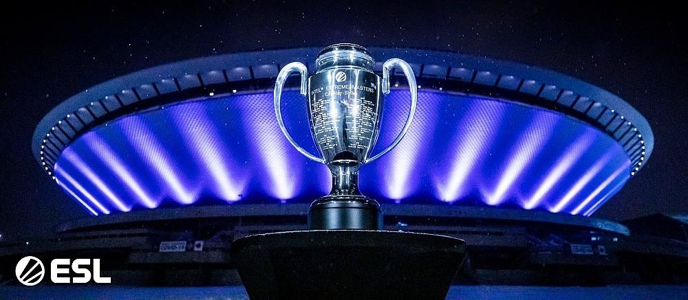 Puchar Intel Extreme Masters na tle Spodka