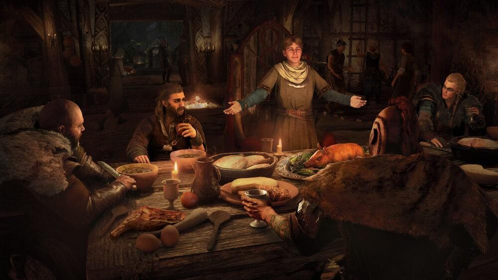 Scenka rodzajowa z Assassin's Creed: Valhalla