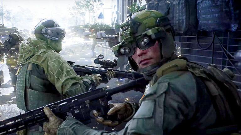 Bohaterowie z Battlefield 2042