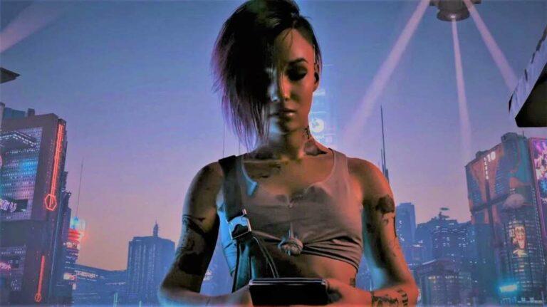 Judy Alvarez z Cyberpunka 2077