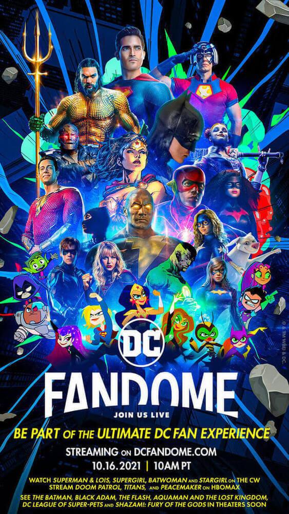 Plakat tegorocznej imprezy DC FanDome