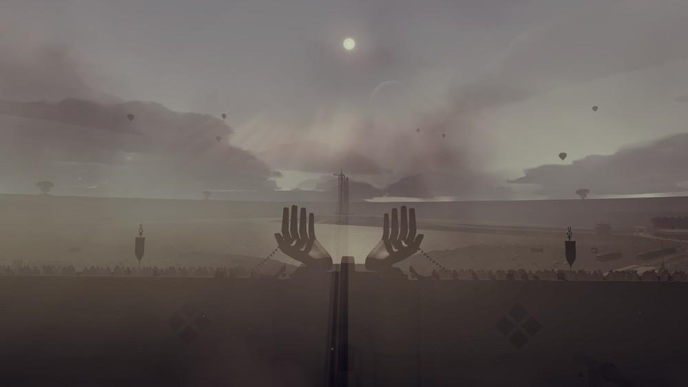 Lokacja z gry JETT: The Far Shore