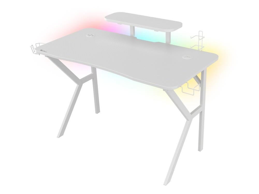 Góra biurka Genesis Holm 320 RGB White