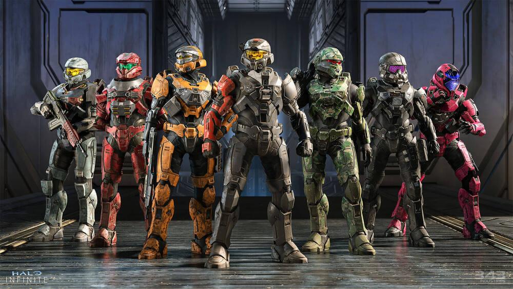 Bohaterowie Halo Infinite