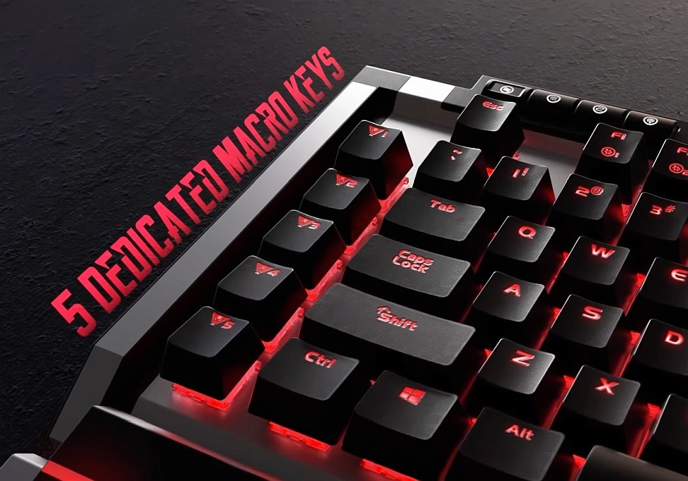 Programowalne klawisze makro w klawiaturze Pariot Viper V770