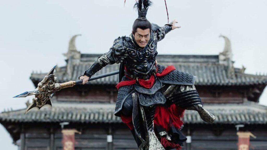 Lu Bu atakuje z wysoka