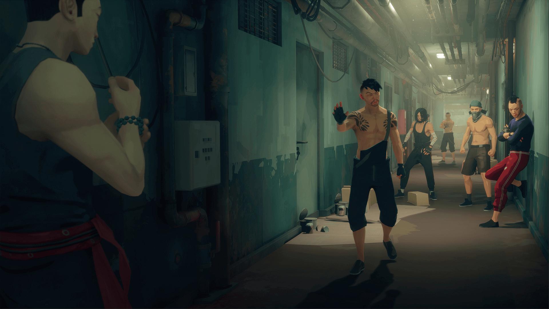 Screen z gry z Sifu