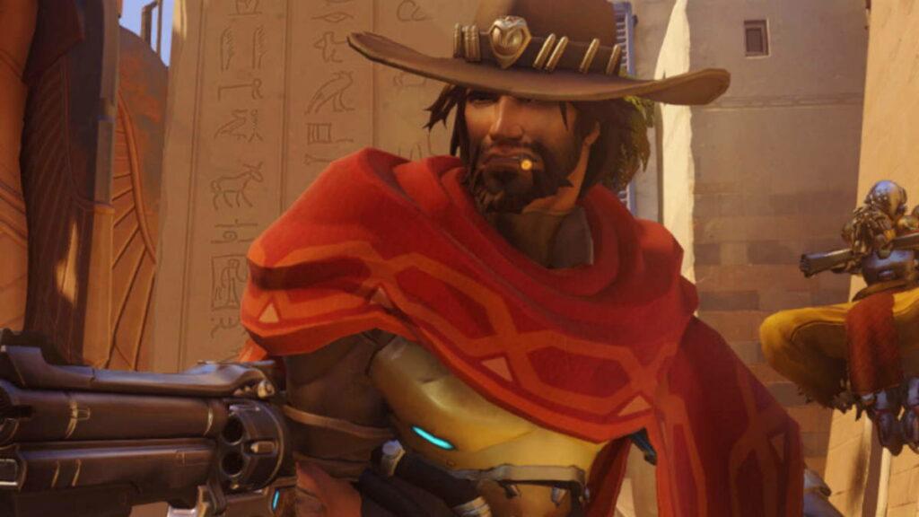 Jesse McCree z Overwatch, postać nawiązująca do byłego dewelopera