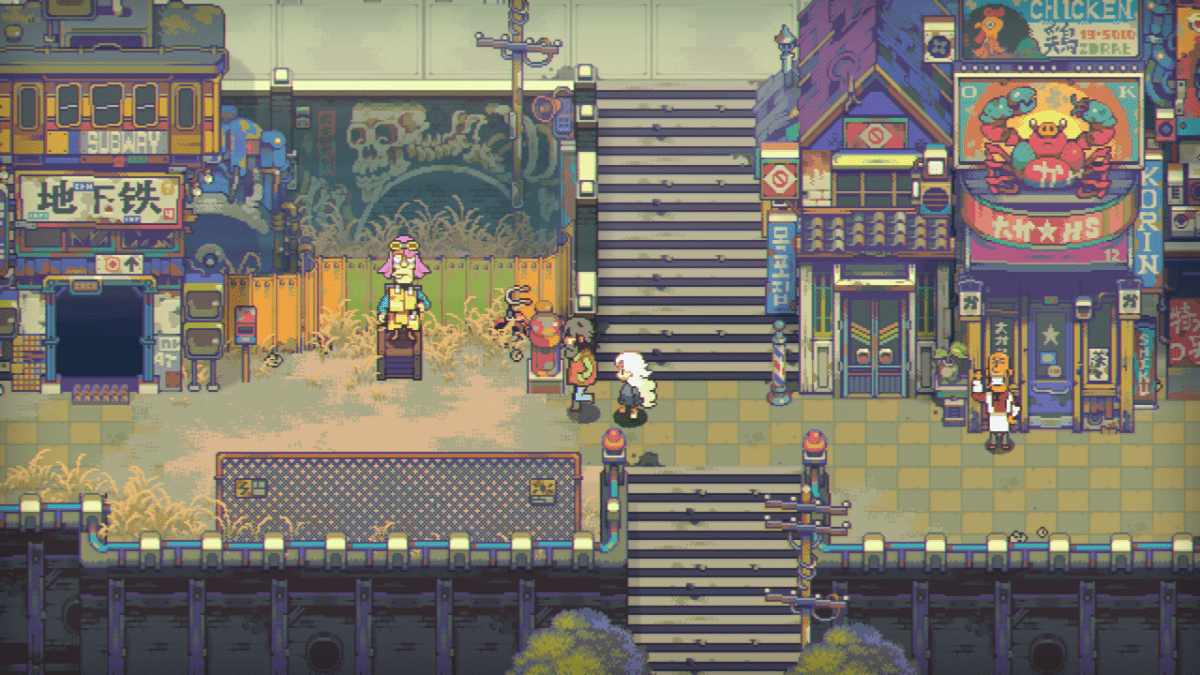 Screen z gry Eastward