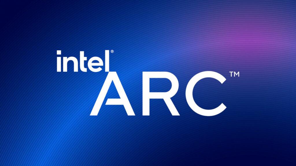Logo marki Intel ARC