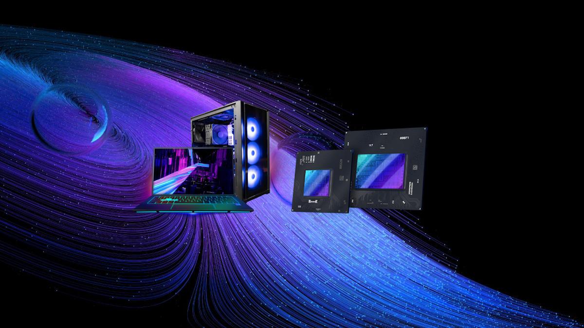 Materiał promocyjny Intel ARC