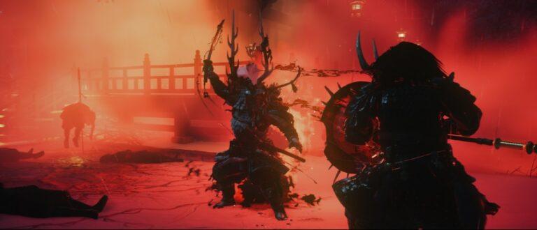 Screen z gry Ghost of Tsushima