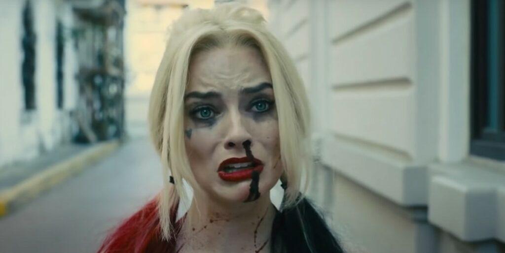 Harley Quinn wzruszona akcją ratunkową