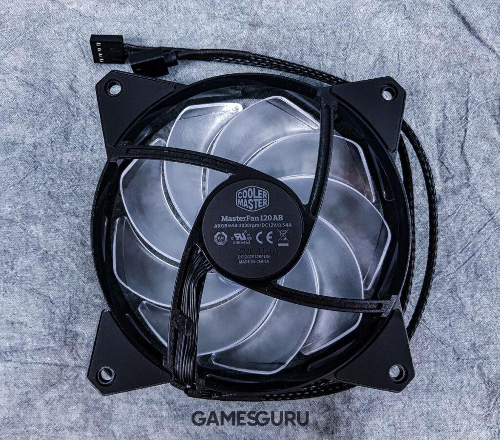 Test chłodzenia Cooler Master MasterLiquid ML360R RGB - rewers wentylatora