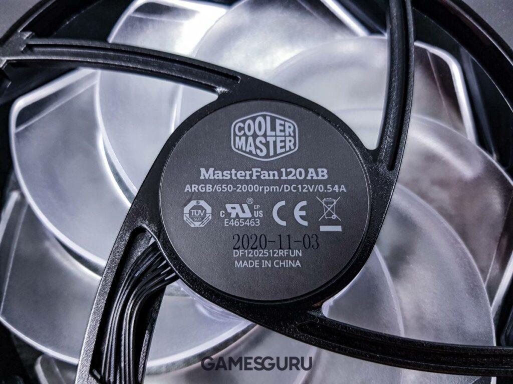 Wentylator z logiem Cooler Mastera