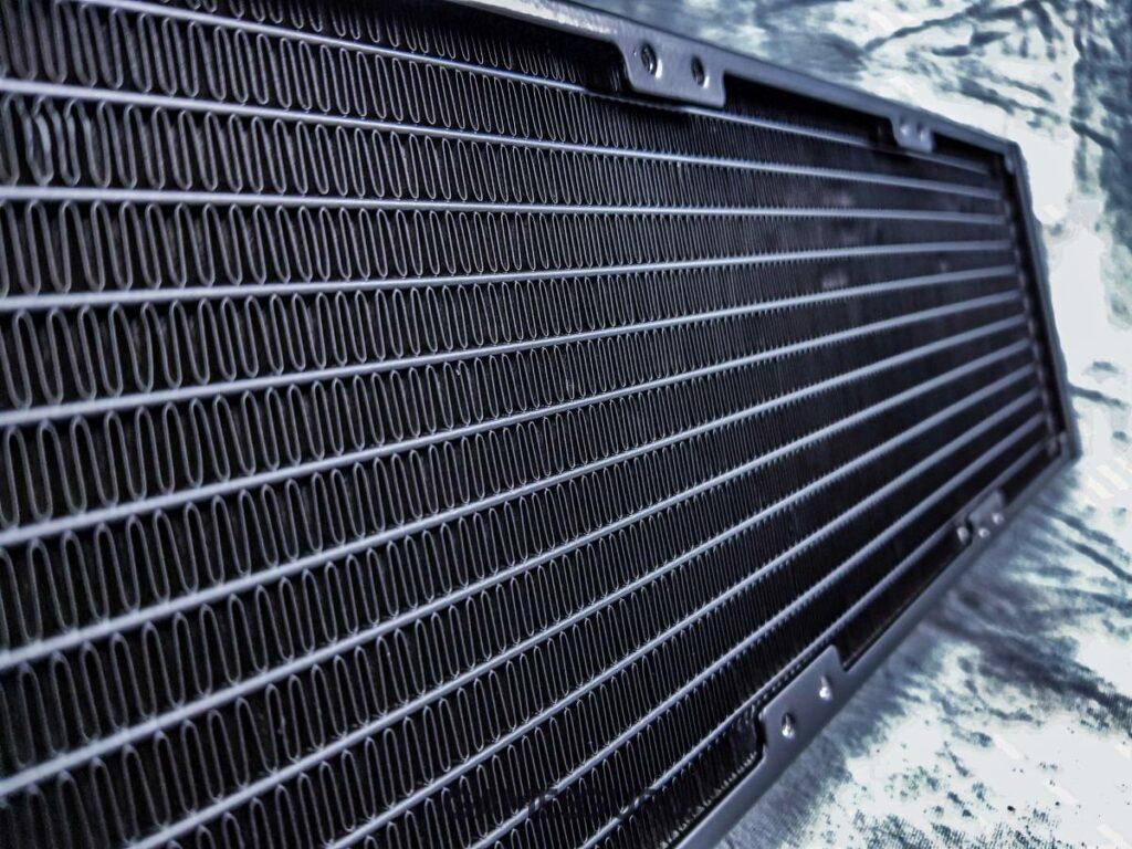 Test chłodzenia Cooler Master MasterLiquid ML360R RGB - odpromiennik ciepła