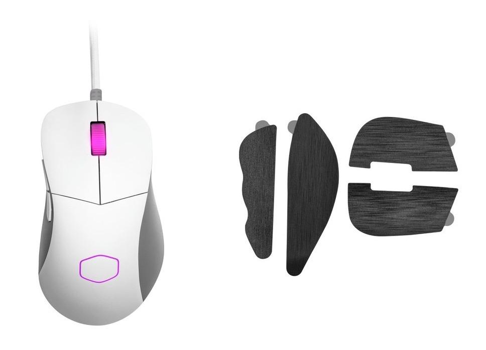 Zestaw białej wersji myszy MM730