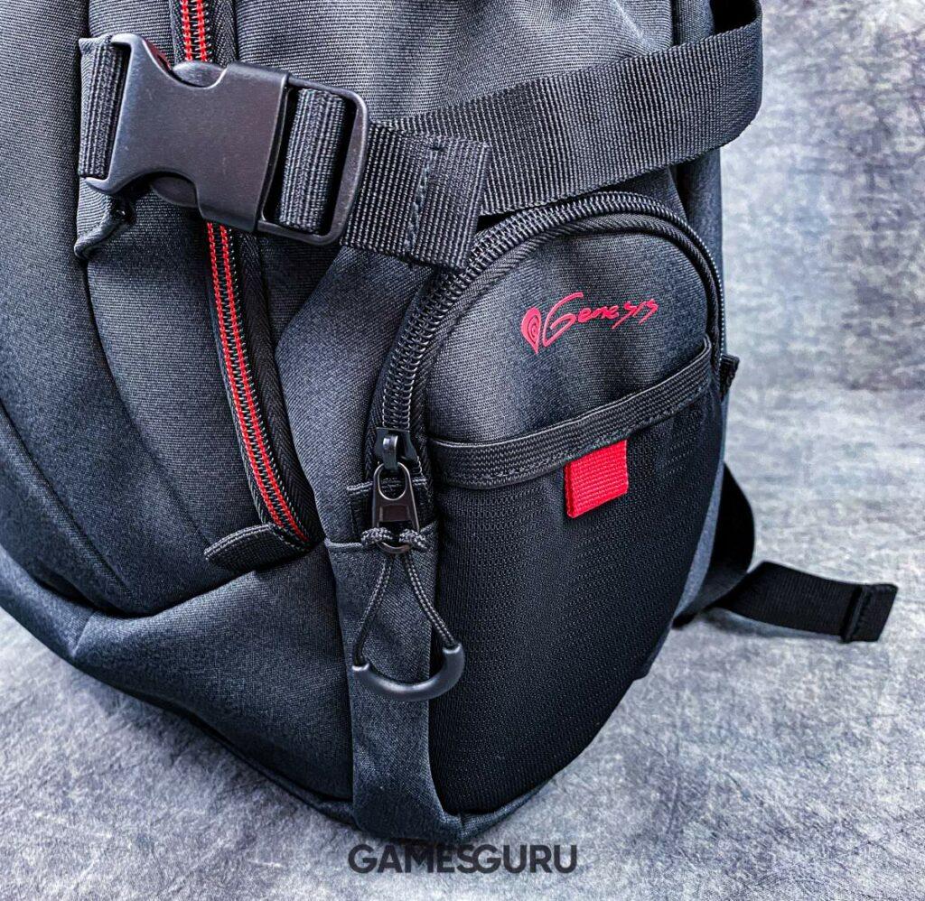 Boczna kieszeń plecaka