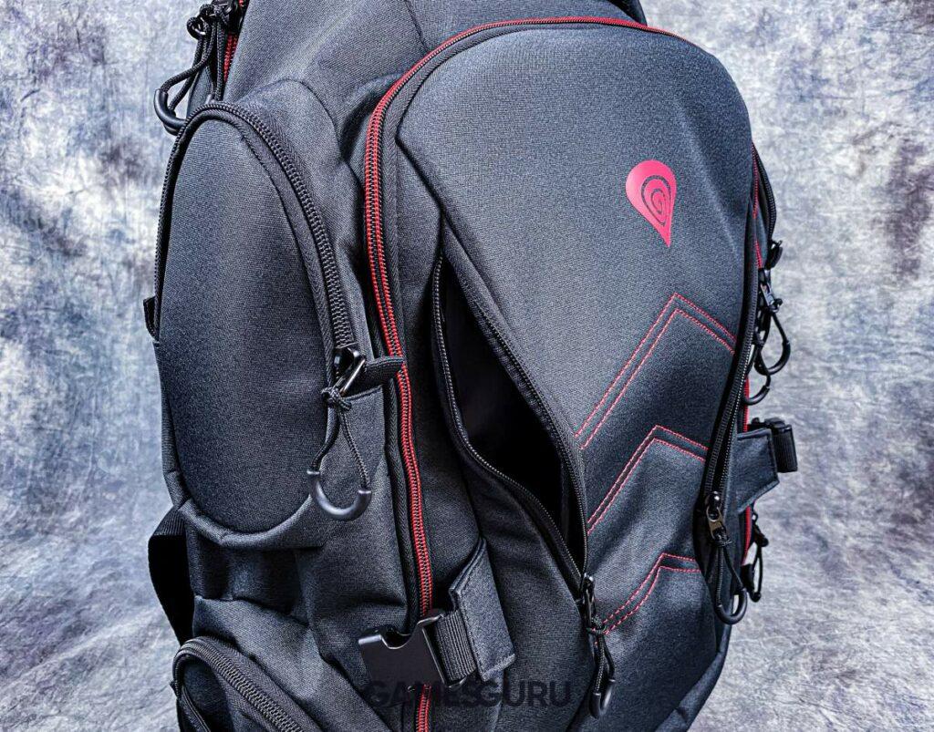 Front plecaka