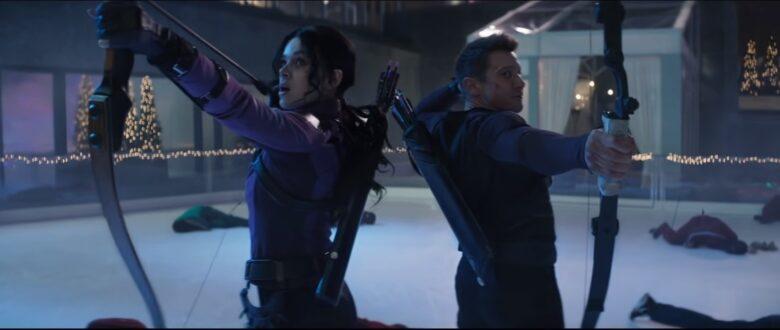 Clint Barton i Kate Bishop w serialu Hawkeye