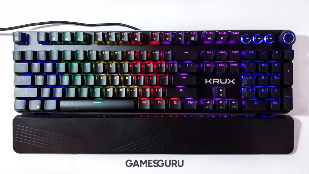 KRUX Crato z podświetleniem RGB