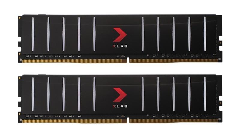 XLR8 Gaming Low Profile DDR4 od przodu