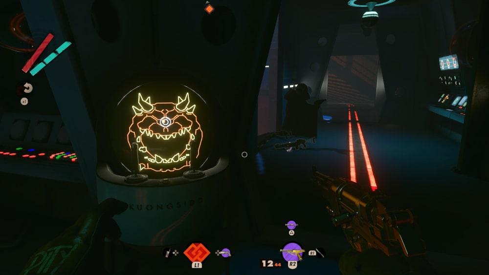 Automat do gier z wizerunkiem Cacodemona z Dooma