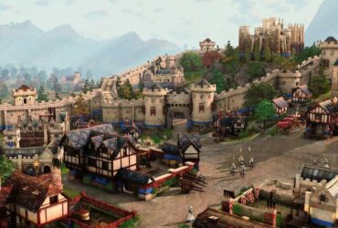 Miasto z Age of Empires IV