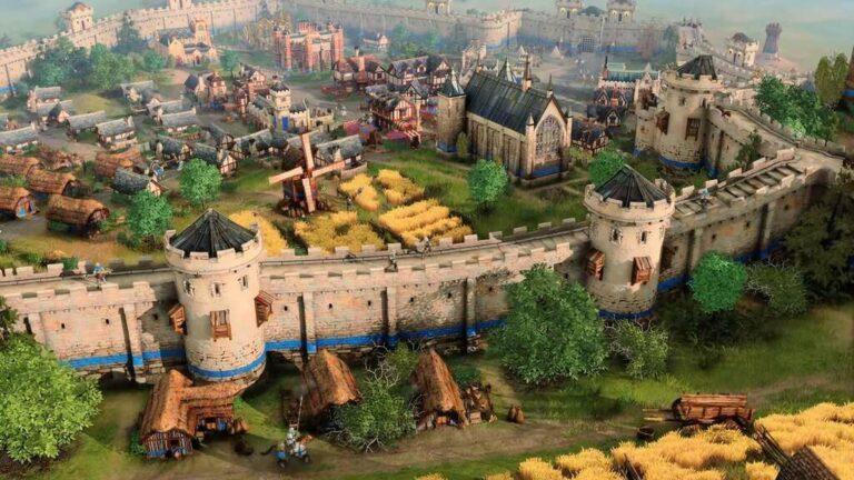 Zabudowania w Age of Empires IV