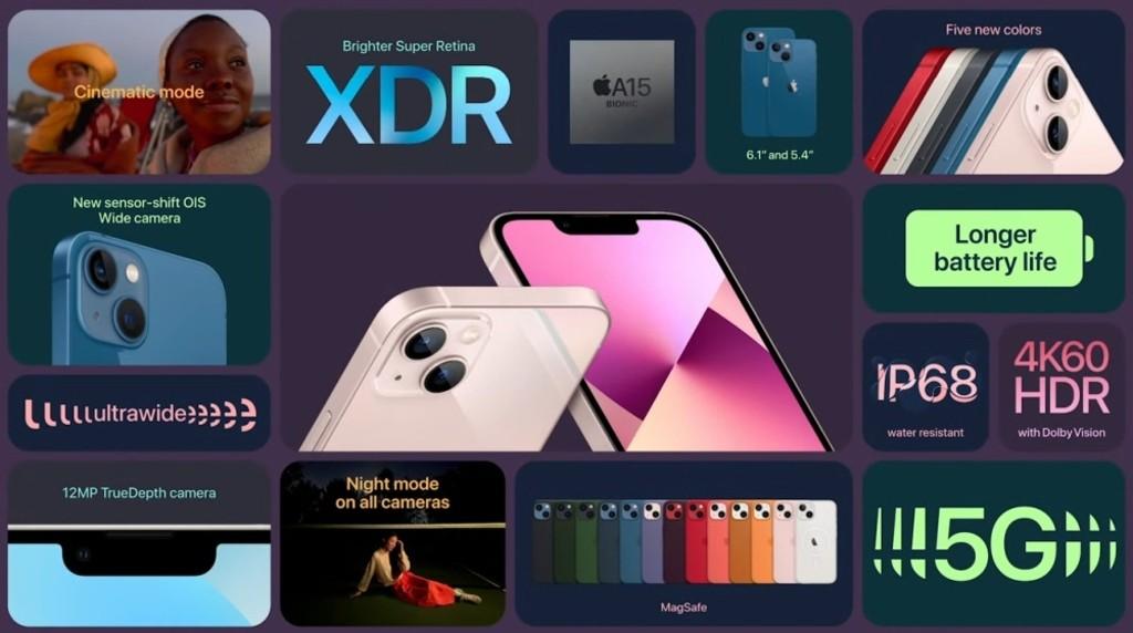Specyfikacje najnowszego iPhone'a 13