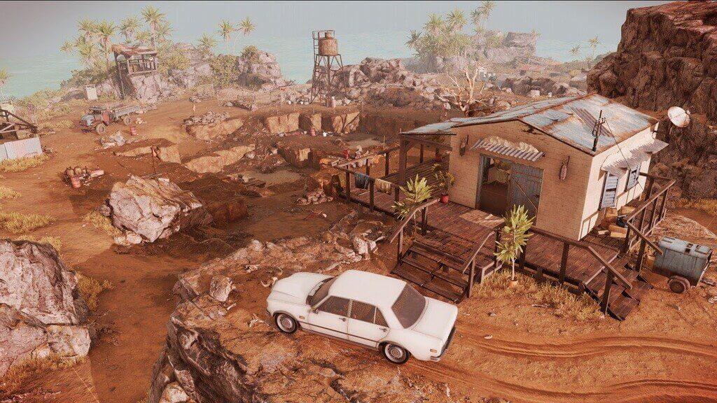 Fragment miasteczka z Jagged Alliance 3
