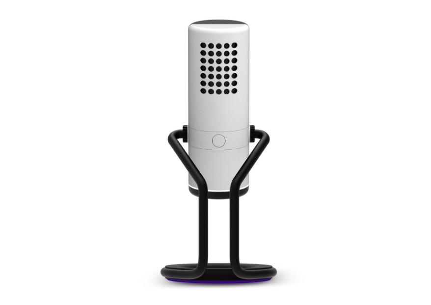 NZXT Capsule - biały mikrofon