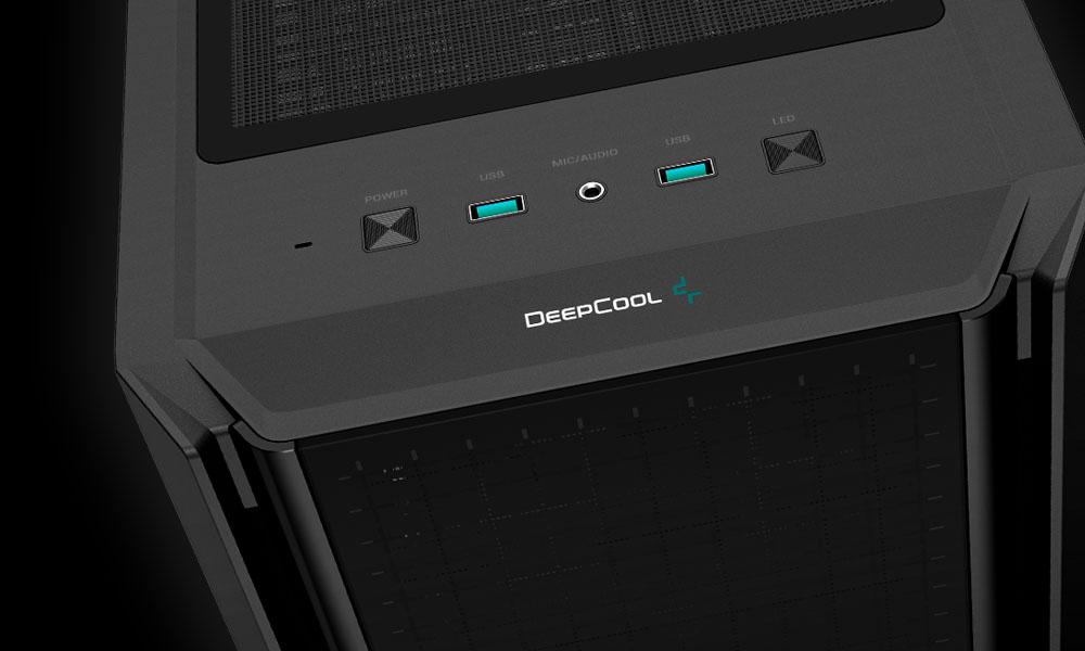 Obudowa DeepCool CG560 - panel przedni