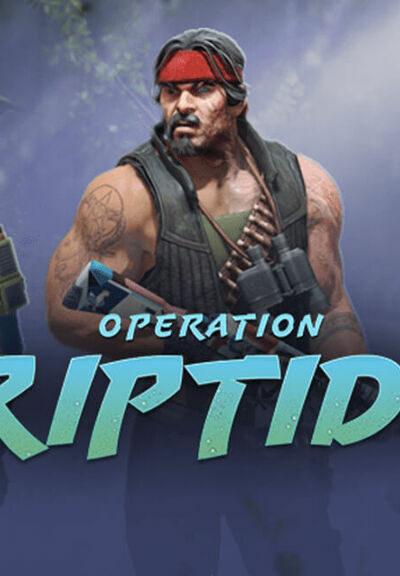 Logo operacji Riptide