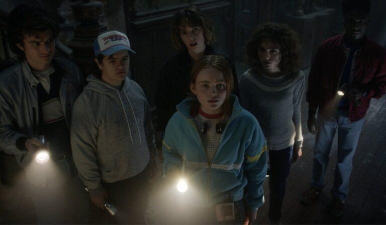 Bohaterowie z serialu Stranger Things