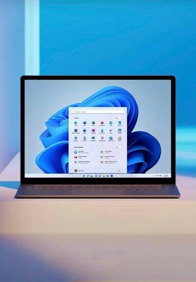 System Windows 11 na laptopie