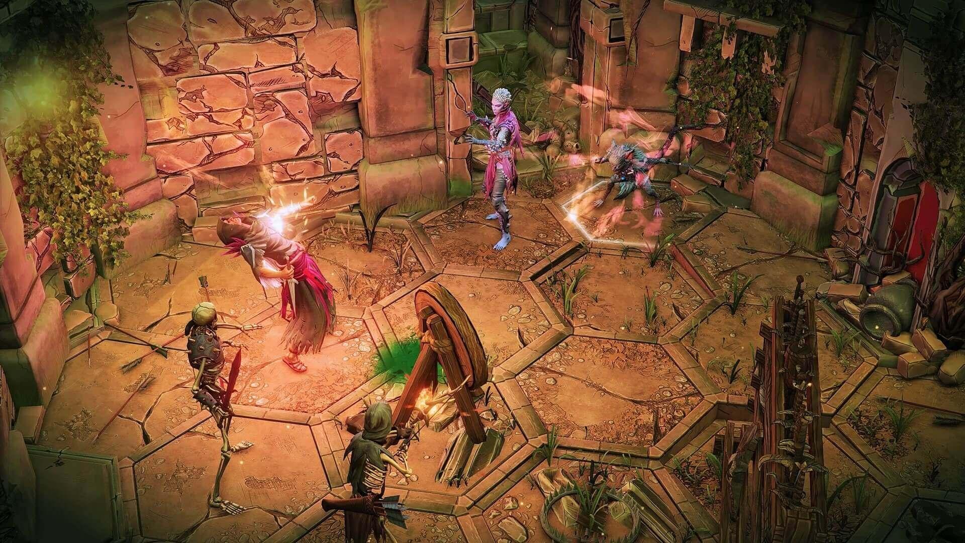 Screen z gry Gloomhaven