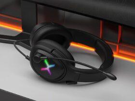 Test KRUX Popz - podświetlenie RGB słuchawek