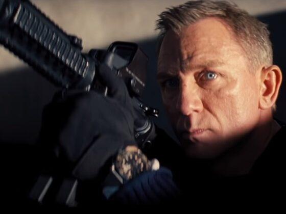 Daniel Craig jako James Bond w Nie czas umierać