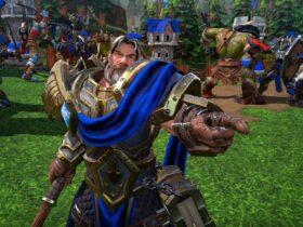 Paladyn z gry Warcraft 3: Reforged