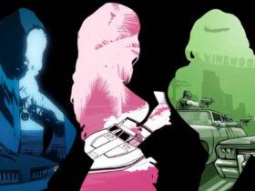 Szkice kobiet z serii GTA 3D