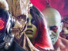 Postacie z gry Marvel's Guardians of the Galaxy