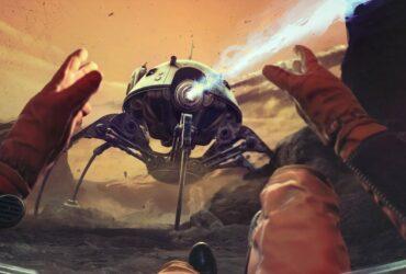 Robot-pająk na planecie Regis III