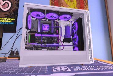 Komputer z PC Building Simulator