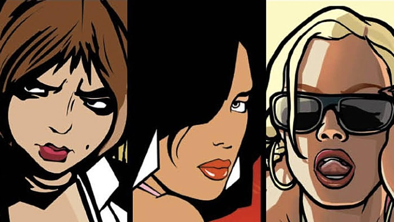 Kolarz kobiet z serii GTA 3D